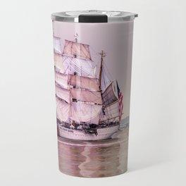 Tall Ships in Boston -USCG Travel Mug