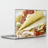 taco Laptop & iPad Skins featuring Taco  by Spotted Heart