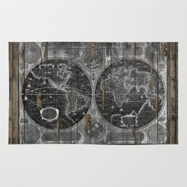 Treasure Map Rug