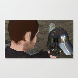War stars: Yorick or Vader Canvas Print