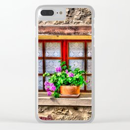 Country Window Clear iPhone Case