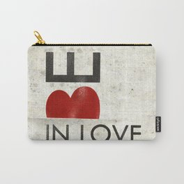 BE IN LOVE Carry-All Pouch