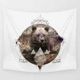 ANIMAL ECHOES Wall Tapestry