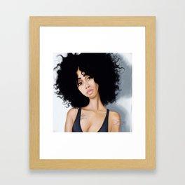 Flyness Framed Art Print