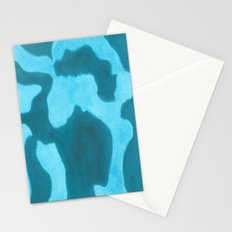Blue Rising Stationery Cards