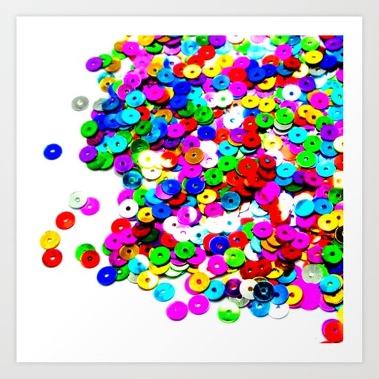 Colorburst Art Print
