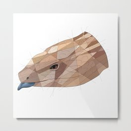 Blue Tongue Skink Metal Print