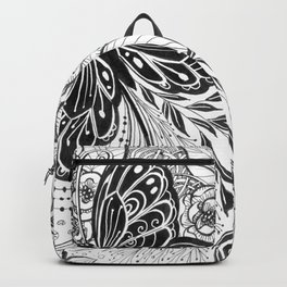Butterfly and flowers Backpack