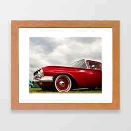 Collection series red! Framed Art Print