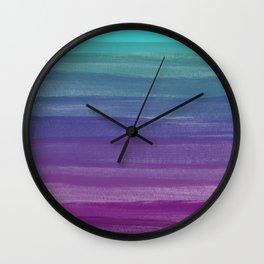 The Purple Dream Wall Clock