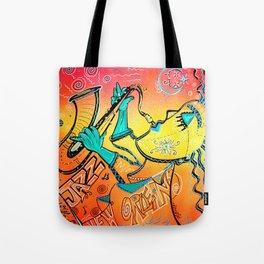 Jazz Lives Tote Bag