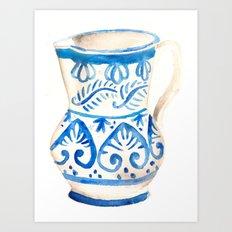 handmade ceramic Art Print