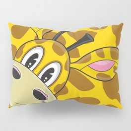 Cute Cartoon Giraffe Pillow Sham