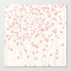Pink Shidare Zakura Canvas Print