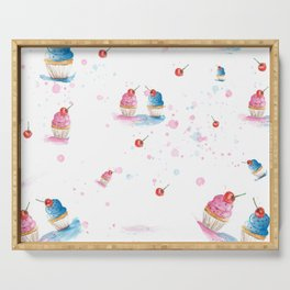 Cupcakes Serving Tray