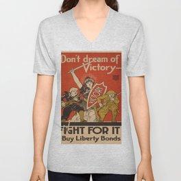 Vintage poster - Don't Dream of Victory Unisex V-Neck