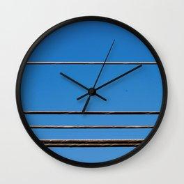Powerful Lines Wall Clock