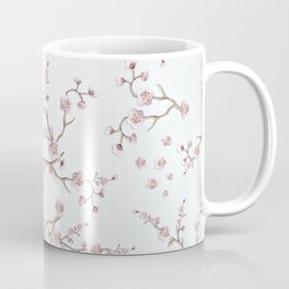SAKURA LOVE - GRUNGE WHITE Coffee Mug