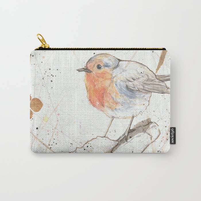 Kleine rote Vögelchen (Little red birdies) Carry-All Pouch