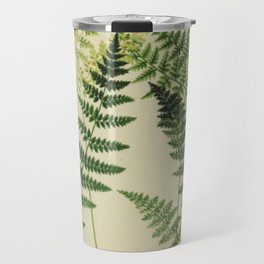 Botanical Ferns Travel Mug