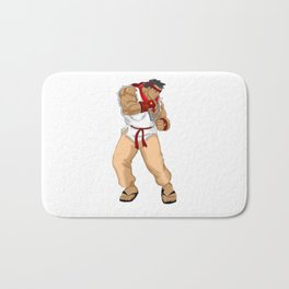 Street Fighter Andres Bonifacio Bath Mat
