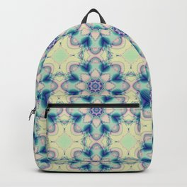 Spring in pastels with fantasy flower Backpack