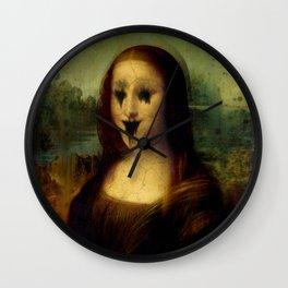Haunted Mona Lisa Wall Clock