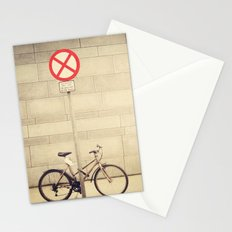 Parking lot Stationery Cards