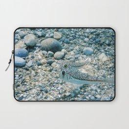 Puffer Fish Swimming Underwater, blowfish, balloonfish, globefish Laptop Sleeve