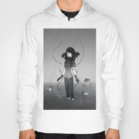 poetry Hoodies featuring Poetry by Fanni Budaházi