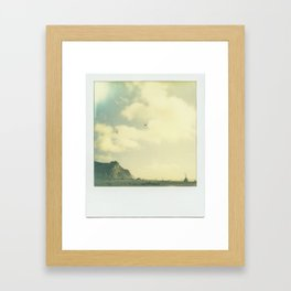 """""""There are few troubles not set to ease by breaking waves and salty air."""" Framed Art Print"""