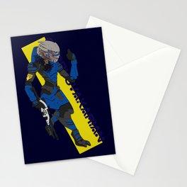 Garrus Vakarian Stationery Cards