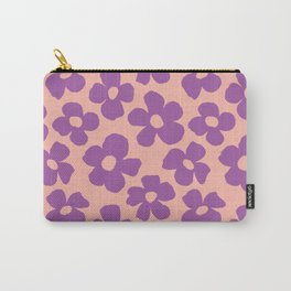 Maxi florals in pool party Carry-All Pouch