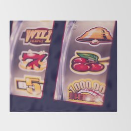 Slot Machine Throw Blanket