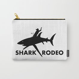 Shark Rodeo silhouette - Pop Culture Carry-All Pouch