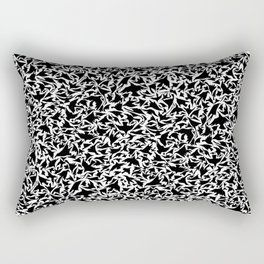 127 Birds Rectangular Pillow