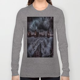 Through the Barrier HDR Long Sleeve T-shirt