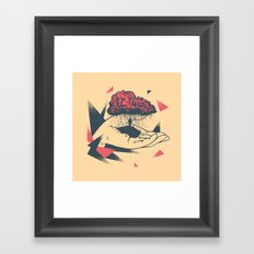 Wage Your Interests Framed Art Print
