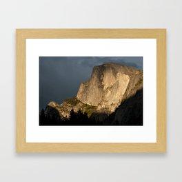 Sublime Rock Face Framed Art Print