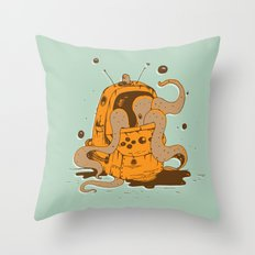 Nintendo is fun Throw Pillow