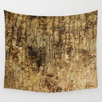 wood Wall Tapestries featuring wood by Кaterina Кalinich