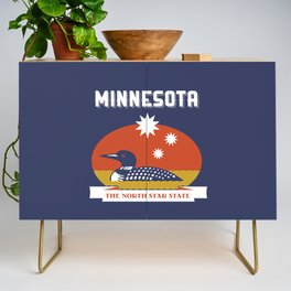 Minnesota - Redesigning The States Series Credenza