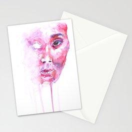 Färgen Rosa Stationery Cards