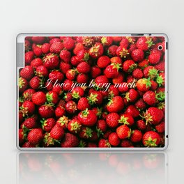 Love you berry much Laptop & iPad Skin