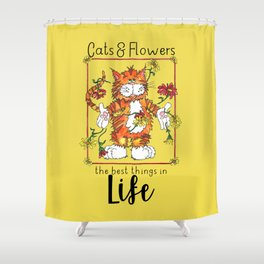 The Best Things in Life Shower Curtain