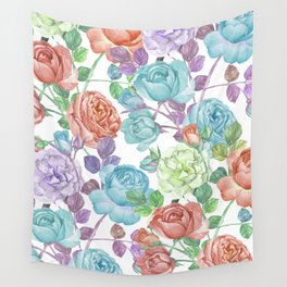 Breathless Rose Wall Tapestry