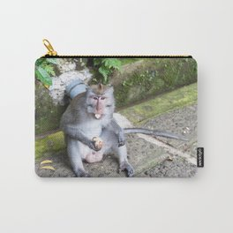 Crab-eating Macaque II (Balinese Monkey) Carry-All Pouch