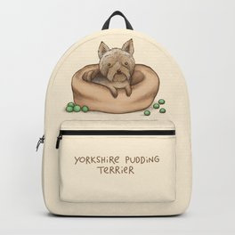 Yorkshire Pudding Terrier Backpack