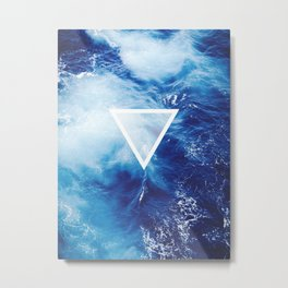 Water Element Metal Print