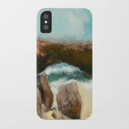 Aruba Natural Bridge iPhone Case